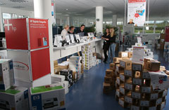 HP IT Outlet Store in Nufringen