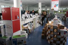 HP IT Outlet Store in Nufringen